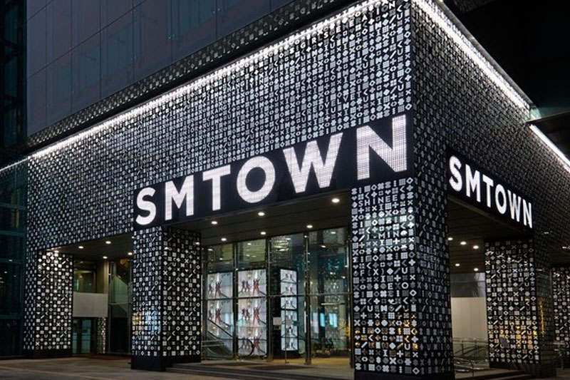 SM-Town at Coex Artium, Seoul, Korea